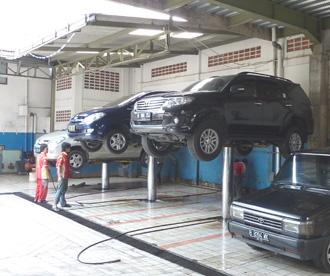 Bengkel Efrata Servis Spare Part Dan Cuci Mobil